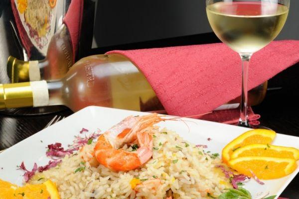 Que tipo de vinho combina com risoto?