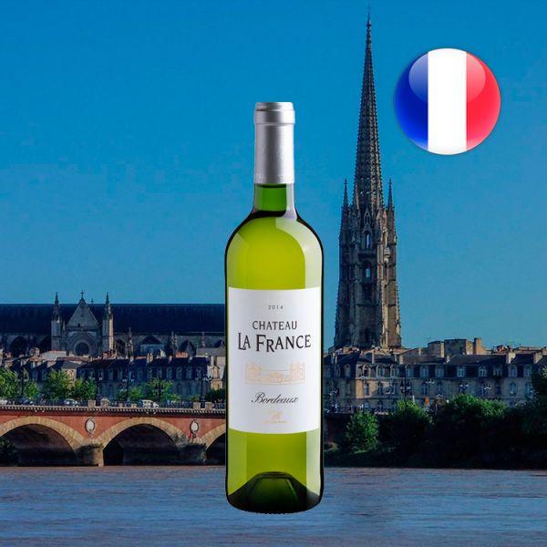 Château La France Blanc Bordeaux AOC 2014 - Oferta