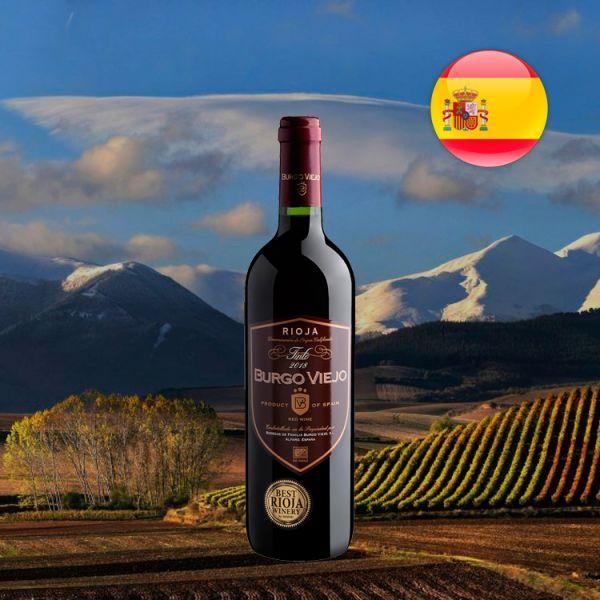 Burgo Viejo Joven Rioja DOCa 2018 - Oferta