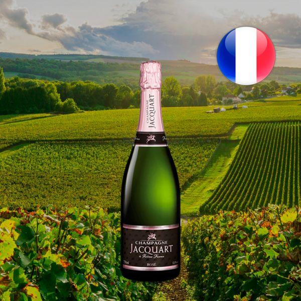Champagne Jacquart Rosé Brut - Oferta