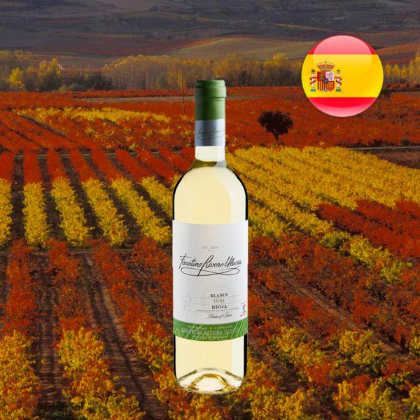 Faustino Rivero Ulecia Blanco Rioja DOCa 2017 - Oferta
