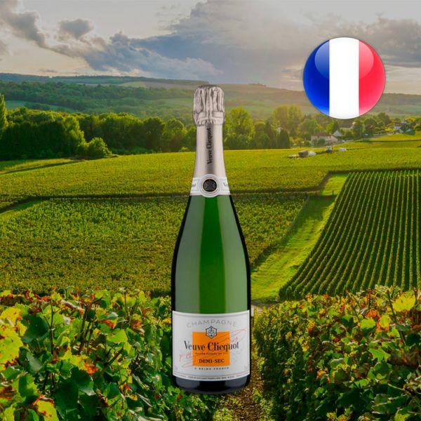 Champagne Veuve Clicquot Demi-Sec - Oferta