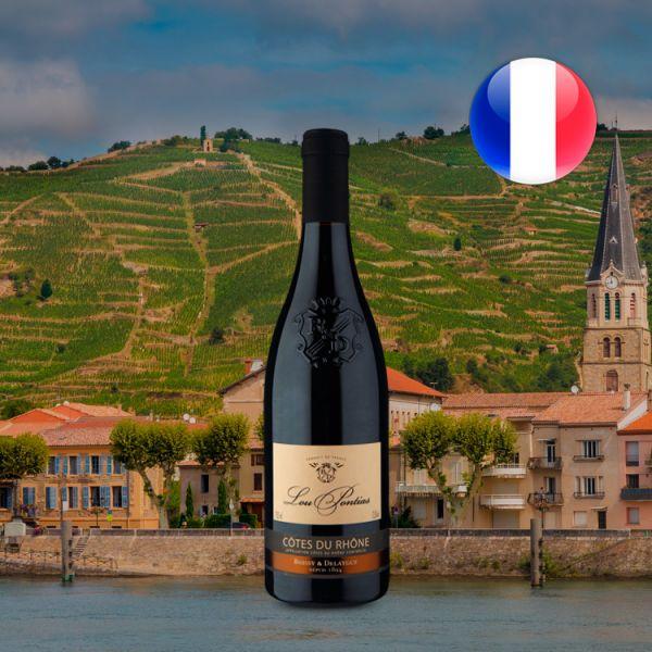 Boissy & Delaygue Lou Pontías A.O.C. Côtes du Rhône 2016 - Oferta