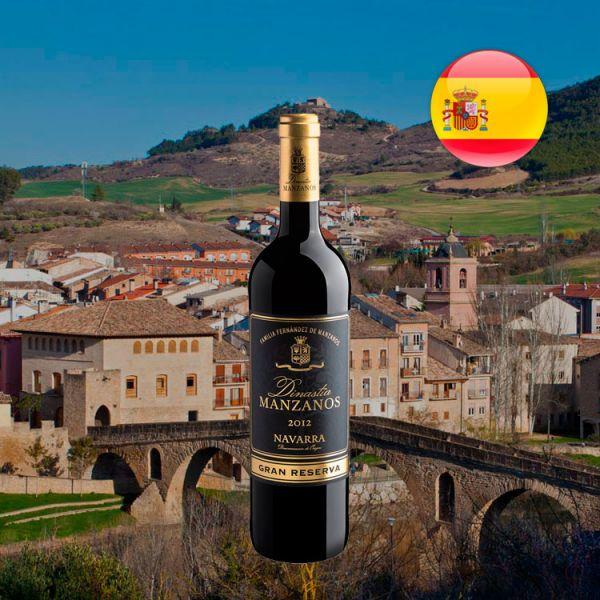 Dinastia Manzanos Gran Reserva Navarra D.O. 2012 - Oferta