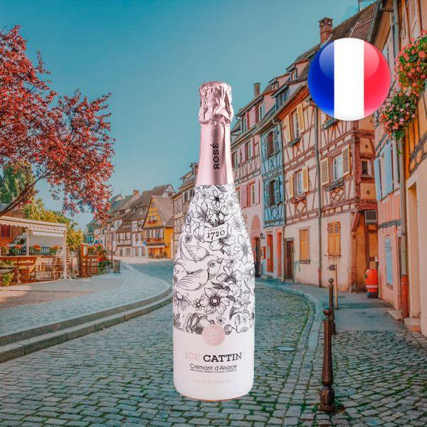 Ice Cattin Rosé Premium Demi-Sec Crémant d'Alsace AOC - Oferta