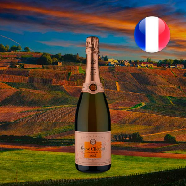 Champagne Veuve Clicquot Rosé Brut - Oferta