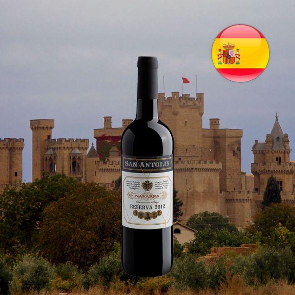 San Antolin Reserva Navarra D.O. 2012 - Oferta