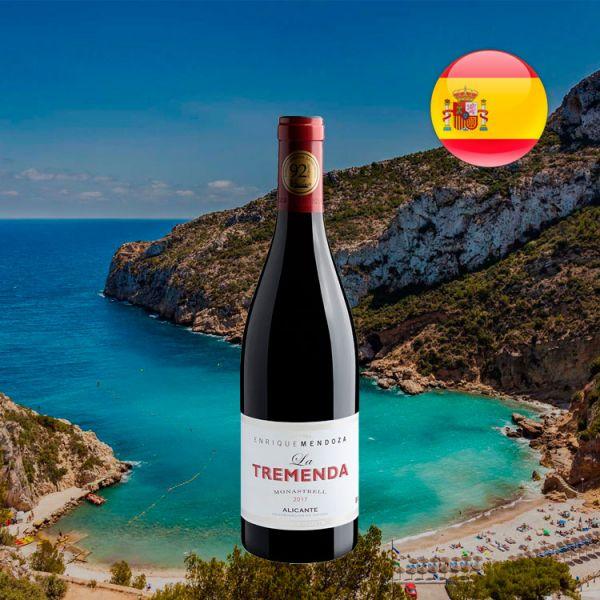 Enrique Mendoza La Tremenda Monastrell Alicante D.O. 2017 - Oferta