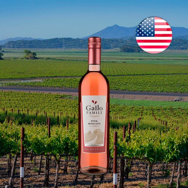 Gallo Family Vineyards Califórnia Pink Moscato Rosé - Oferta