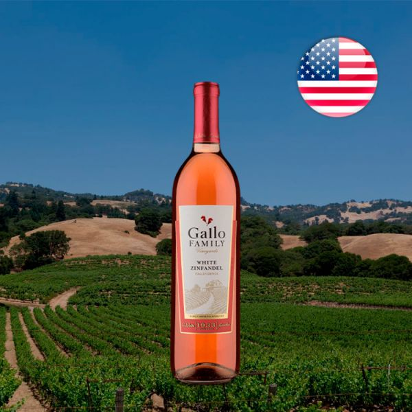 Gallo Family Vineyards Califórnia White Zinfandel - Oferta