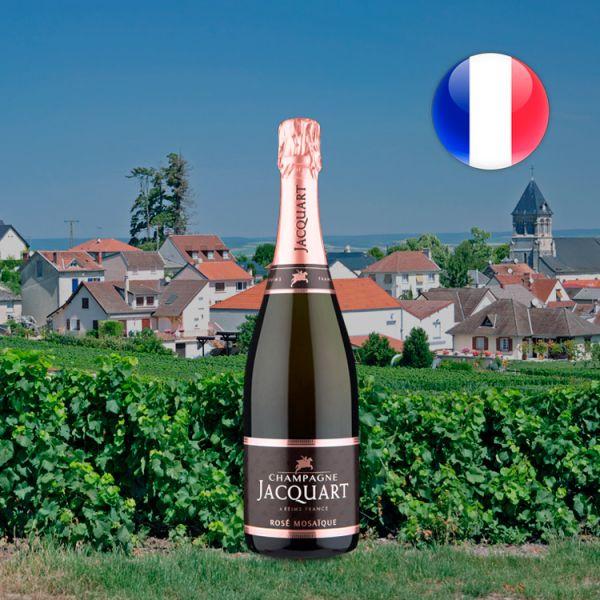 Champagne Jacquart Brut Rosé Mosaique - Oferta
