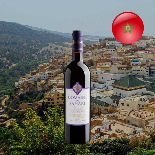 Domaine de Sahari Vin Rouge du Maroc Beni M'Tir AOG 2018 - Oferta