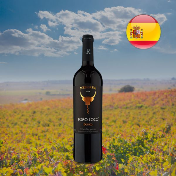 Toro Loco Reserva Barricas D.O. Utiel-Requena 2014 - Oferta