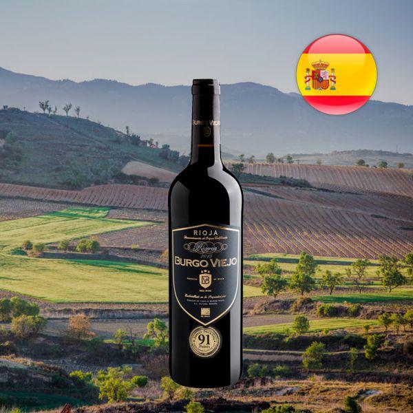 Burgo Viejo Reserva Rioja DOCa 2015 - Oferta