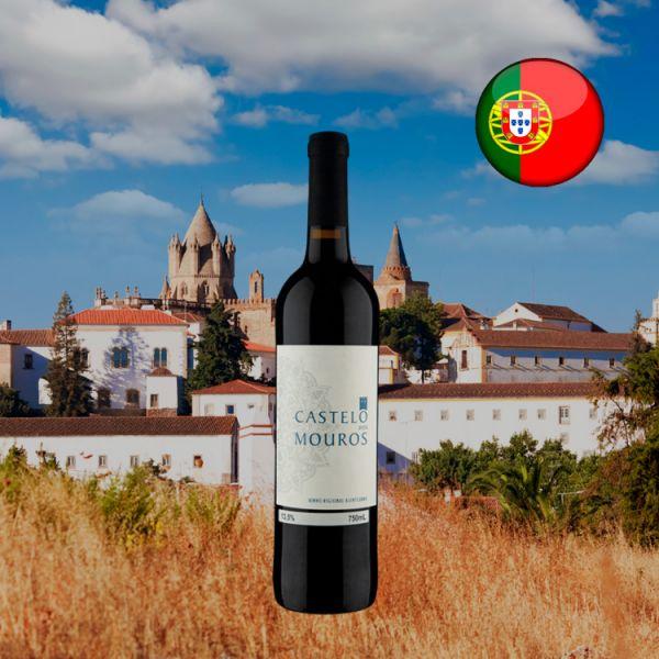 Castelo dos Mouros Regional Alentejano Tinto 2018 - Oferta