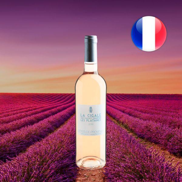La Cigale Qui Faisait Chanter Les Platanes Côtes de Provence AOP 2019 - Oferta