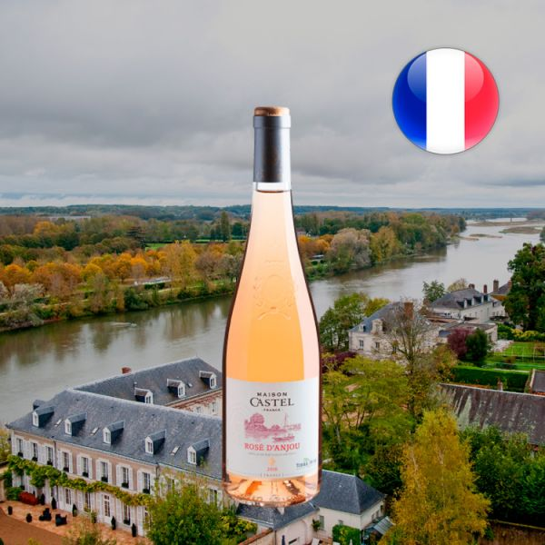Maison Castel Classics Rose D'Anjou AOC 2018 - Oferta