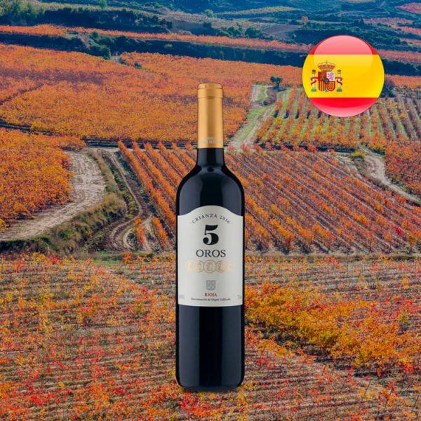 5 Oros Crianza D.O.Ca. Rioja 2016 - Oferta