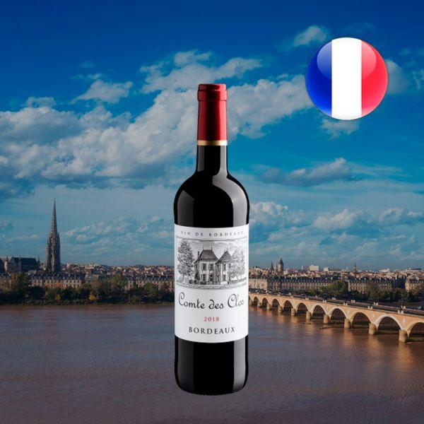 Comte des Clos Bordeaux AOP 2018 - Oferta