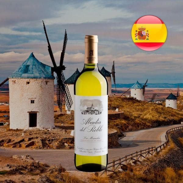 Abadia del Roble White La Mancha D.O. - Oferta
