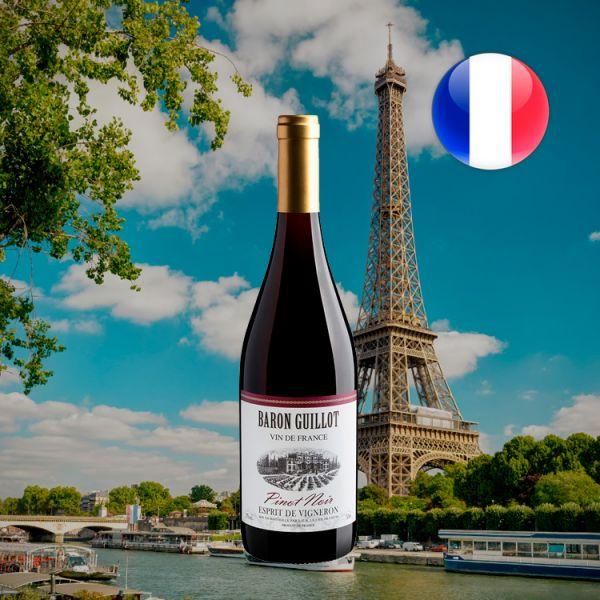 Baron Guillot Esprit de Vigneron Pinot Noir 2019 - Oferta