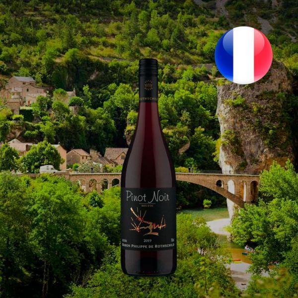 Baron Philippe de Rothschild I.G.P Pays dOc Pinot Noir 2019 - Oferta