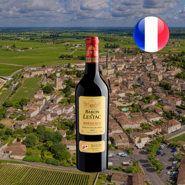 Bordeaux Baron de Lestac AOC 2018 - Oferta