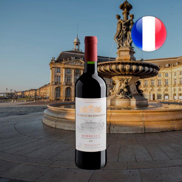 Bordeaux Les Cercle des Épicuriens AOP 2019 - Oferta