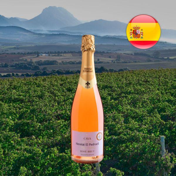 Cava Heretat Del Padruell Rosé Brut - Oferta