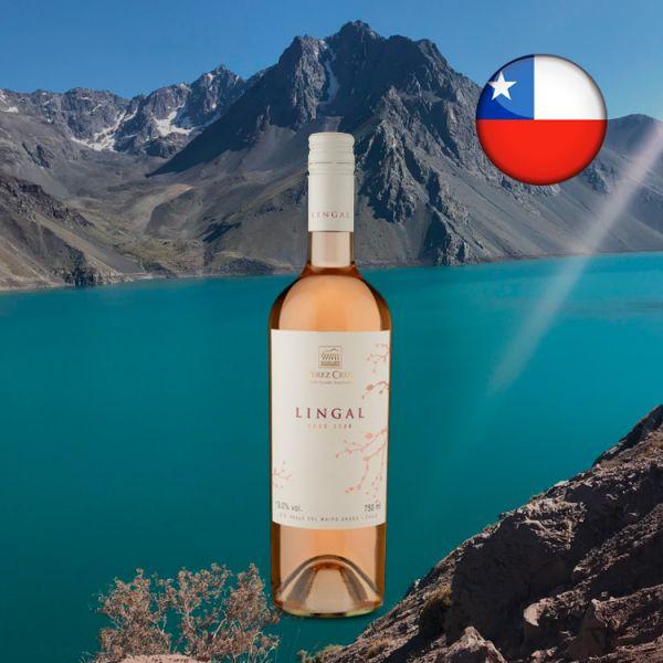 Pérez Cruz Lingal D.O. Valle del Maipo Andes Rosé 2020 - Oferta