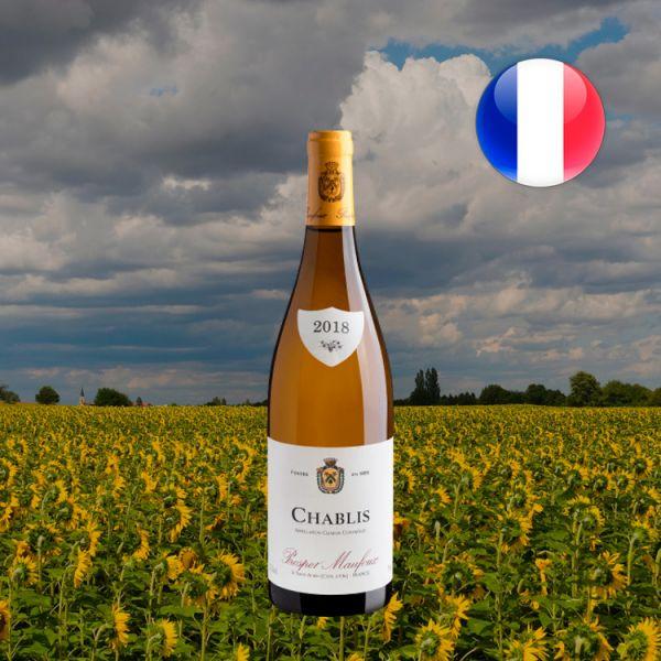 Prosper Maufoux Chablis Bourgogne AOC 2018 - Oferta