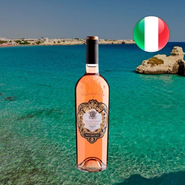 Messeri Primitivo Rosato Puglia 2019 - Oferta