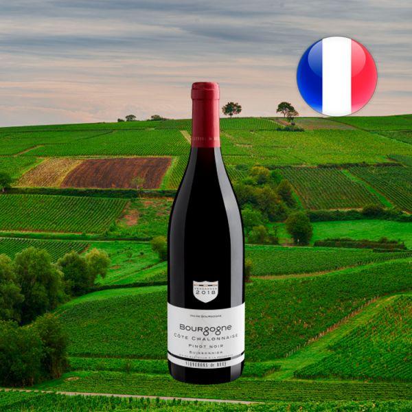 Buissonnier Pinot Noir Bourgogne Côte Chalonnaise 2018 - Oferta