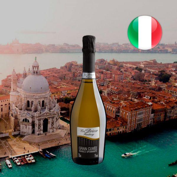 Col Brioso Fantasy Bianco Spumante Gran Cuvée Extra Dry - Oferta