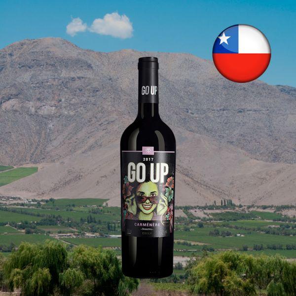 GO UP Carménère Reserva 2018 - Oferta