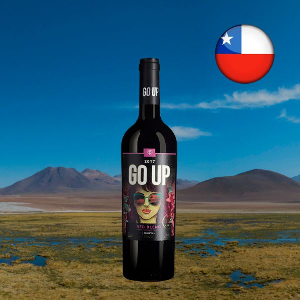 GO UP Red Blend Reserva 2018 - Oferta