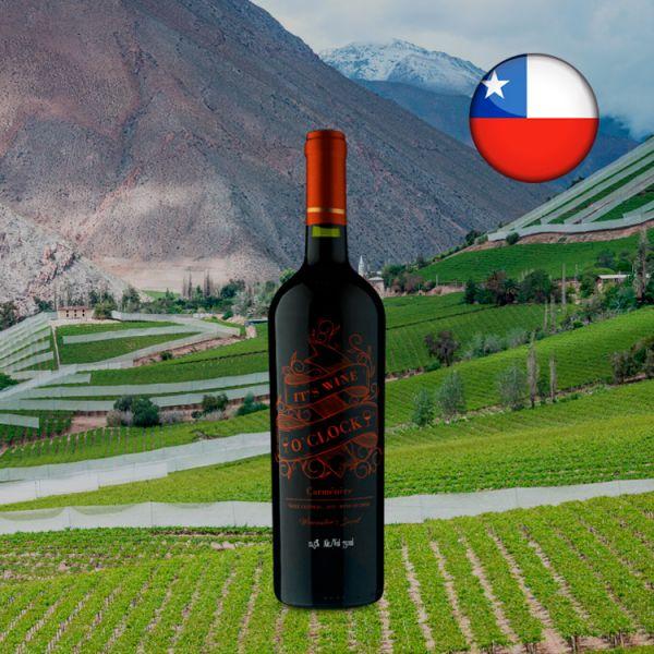 Its Wine O Clock Carménère 2019 - Oferta