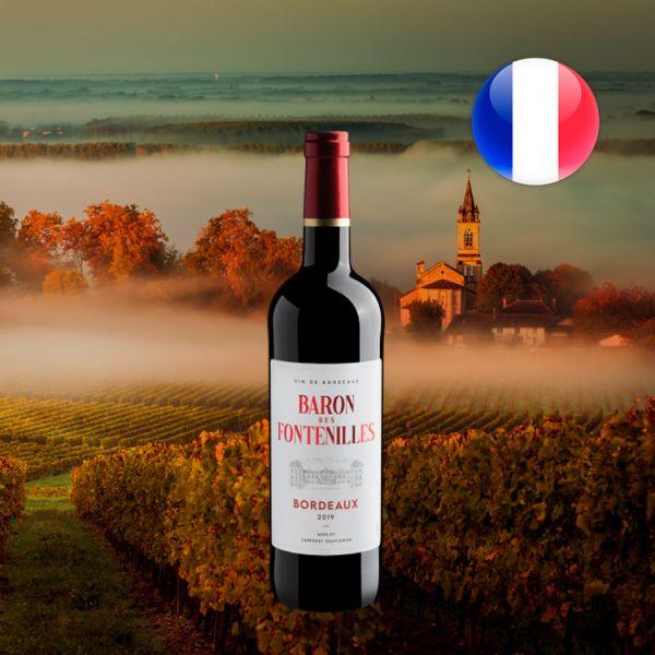 Baron Des Fontenilles Bordeaux 2019 - Oferta