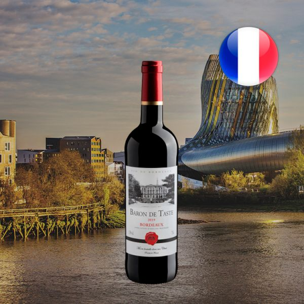 Baron de Taste Bordeaux AOP 2019 - Oferta