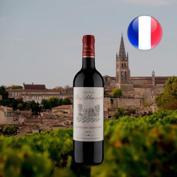 Château Puy-Blanquet A.O.C. Saint-Émilion Grand Cru 2014 - Oferta