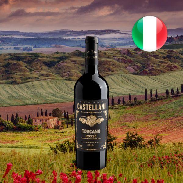 Famiglia Castellani Toscano Rosso 2016 - Oferta