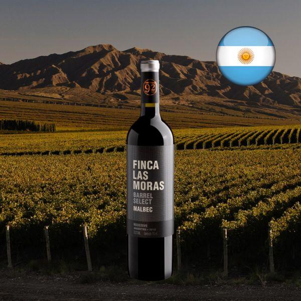 Finca Las Moras Barrel Select Reserve Malbec 2018 - Oferta