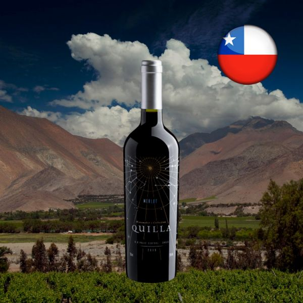 Quilla Winemaker's Collection Merlot Central Valley D.O. 2019 - Oferta
