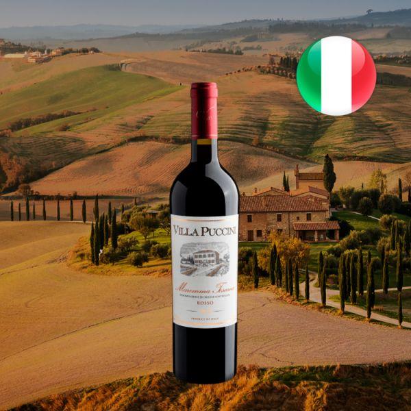 Villa Puccini Maremma Toscana Rosso DOC 2019 - Oferta