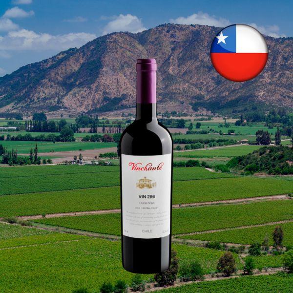Vinchante Vin 266 Carménère Central Valley D.O. 2020 - Oferta