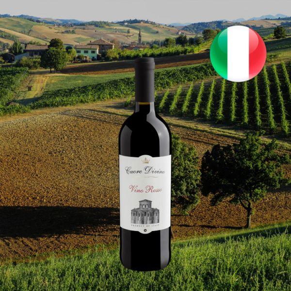 Cuore Divino Vino Rosso - Oferta
